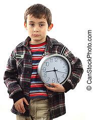 時間, へ, 学校, 概念