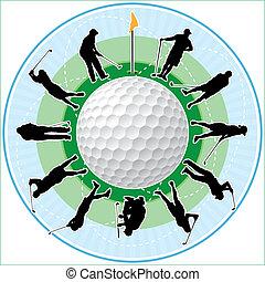 時間, ゴルフ