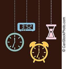 時間, デザイン