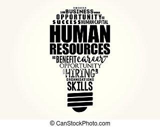 時間, ライト, -, 人間, 電球, 資源