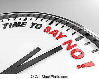 時間, 到, 說沒有