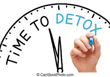 時間, 到, detox
