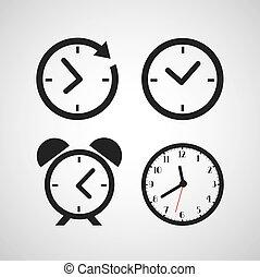 時間, 圖象