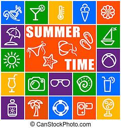時間, 夏