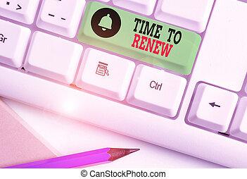 時間, 手書き, テキスト, 特性, renew., acquired, protection., 概念, 執筆, 意味, 継続しなさい, 保険, 生活
