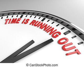 時間, 是, 跑, 在外