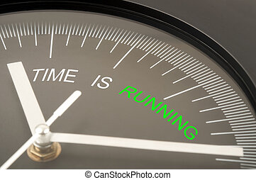時間, 是, 跑