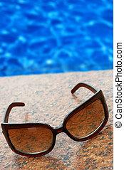 時間, 為, 夏天, vacation(concept, 你, 正文, 上, the, 藍色, water)