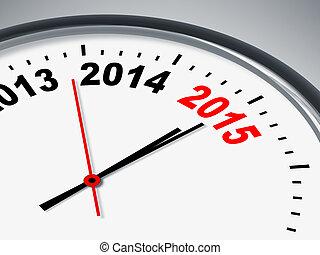 時間, 為, 2015