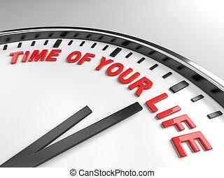 時間, ......的, 你, 生活