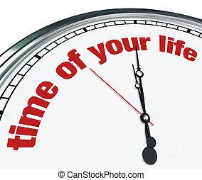 時間, ......的, 你, 生活, -, 裝飾華麗, 鐘