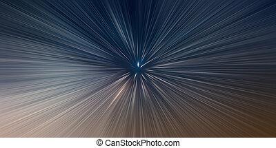 時間, 背景, 旅行, 概念, スピード, 反り, ライト