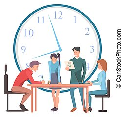 時間, 解決, 管理, ビジネス, プロジェクト