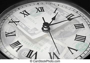 時間, 錢