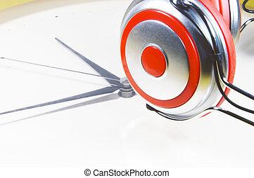 時間, 音楽