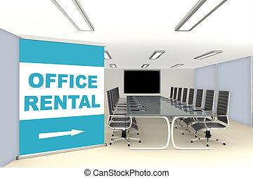 時, 特別, 使用料, ワークスペース, オフィス