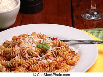 晚餐, 意大利語