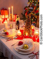 晚餐, 整體, 前夕, 家庭聖誕節