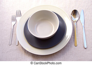 晚餐, 餐具