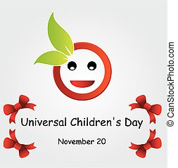 普遍的, childrens, day-november, 20