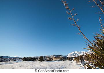景色。, 冬