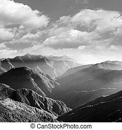 景色, 山