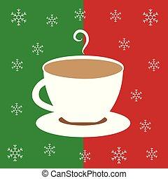 暑い, クリスマス, 陽気, チョコレート