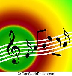 暑い, 音楽