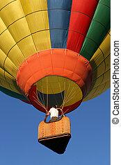 暑い, balloon, 空気