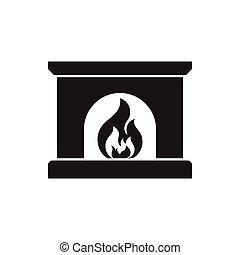 暖炉, アイコン