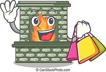 暖炉, 家のショッピング, 漫画