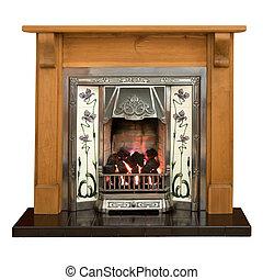 暖炉, 松