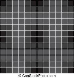 暗い灰色, タイル, 背景, 壁