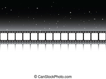 暗い背景, 映画館