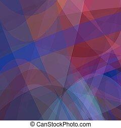 暗い, グラフィック, 抽象的, -, 動き, ベクトル, 背景, 曲がった