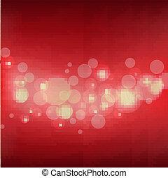 暗い, グランジ, 赤い背景