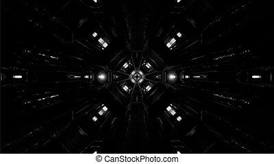 暗い, スペース, 高く, 3d, アートワーク, contast, イラスト, 廊下, tunnekl, 格納庫, 背景