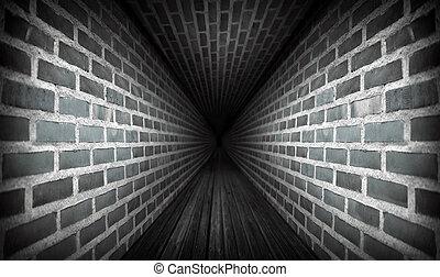 暗い, トンネル
