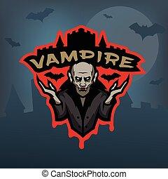 暗い, バックグラウンド。, 吸血鬼, 紋章
