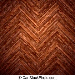暗い, パターン, herringbone, 寄木細工の床の 床