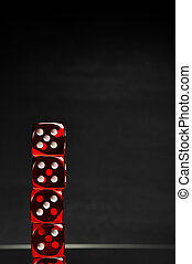 暗い, 主題, カジノ, 背景