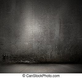 暗い, 壁