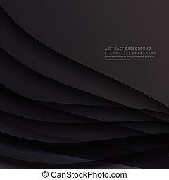 暗い, 抽象的, ベクトル, デザイン, 背景