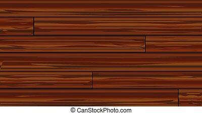 暗い, 木製板