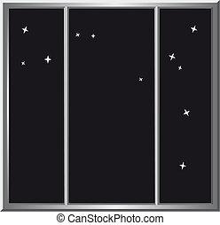 暗い, 窓