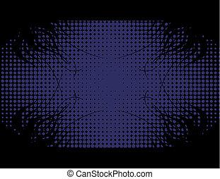 暗い 青, 壁紙