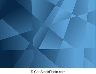 暗い 青, 抽象的, 背景