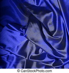 暗い 青, 絹, 背景