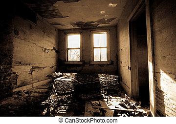 暗室, trashed