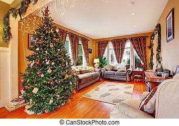 暮らし, イブ, クリスマス, 部屋